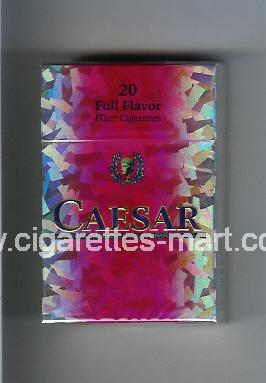 Caesar (german version) (Full Flavor) ( hard box cigarettes )