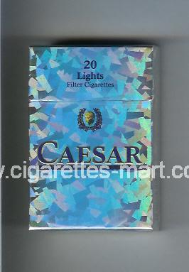 Caesar (german version) (Lights) ( hard box cigarettes )