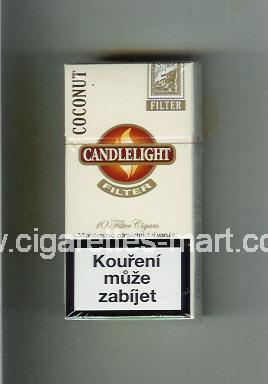 Candlelight (design 2) (Coconut / Filter Cigars) ( hard box cigarettes )