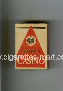 Casino (german version) (design 1A) (Josetti) ( hard box cigarettes )