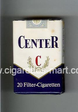 Center ( soft box cigarettes )