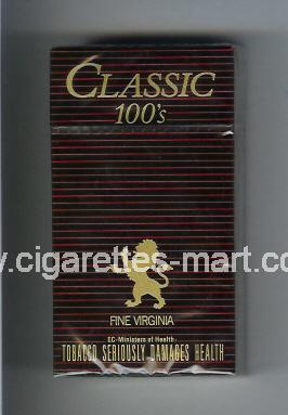 Classic (german version) (design 1) (Fine Virginia) ( hard box cigarettes )