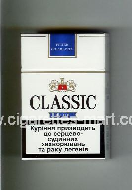 Classic (german version) (design 2) (Blue / 8) ( hard box cigarettes )