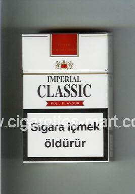 Classic (german version) (design 2) Imperial (Full Flavour) ( hard box cigarettes )