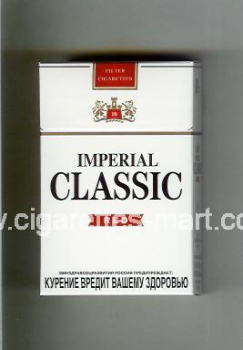 Classic (german version) (design 2) Imperial (Red / 10) ( hard box cigarettes )