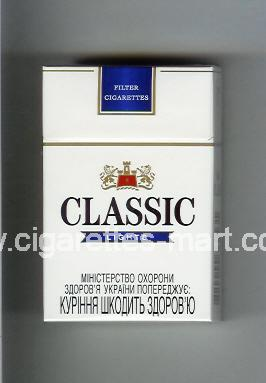 Classic (german version) (design 2) (Lights / 8) ( hard box cigarettes )