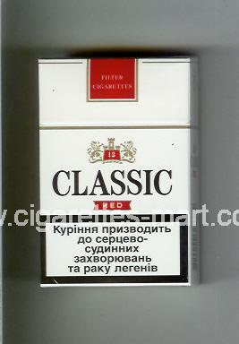 Classic (german version) (design 2) (Red / 12) ( hard box cigarettes )