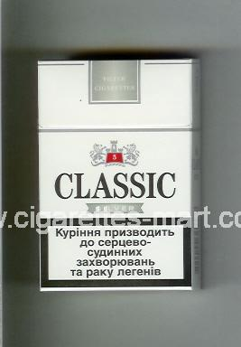 Classic (german version) (design 2) (Silver / 5) ( hard box cigarettes )