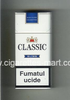 Classic (german version) (design 2) (Slims / 7) ( hard box cigarettes )