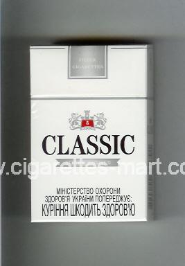 Classic (german version) (design 2) (Super Lights / 5) ( hard box cigarettes )