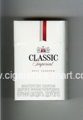 Classic (german version) (design 3) (Imperial / Full Flavour / 10) ( hard box cigarettes )