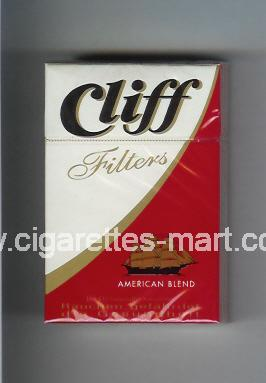 Cliff (german version) (Filters / American Blend) ( hard box cigarettes )