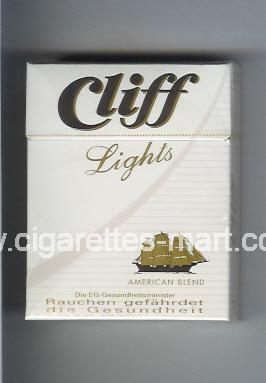 Cliff (german version) (Lights / American Blend) ( hard box cigarettes )