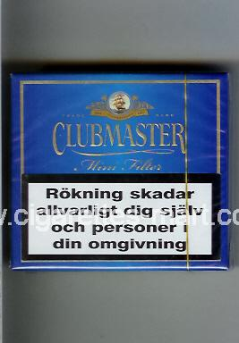 Clubmaster (design 1) (Mini Filter) ( box cigarettes )