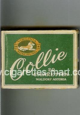 Collie (design 1) (Virginia Mischung / Waldorf Astoria) ( box cigarettes )