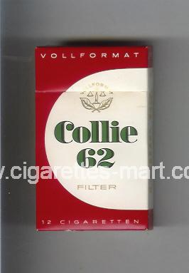 Collie (design 3) 62 ( hard box cigarettes )