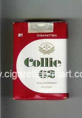 Collie (design 3) 62 ( soft box cigarettes )