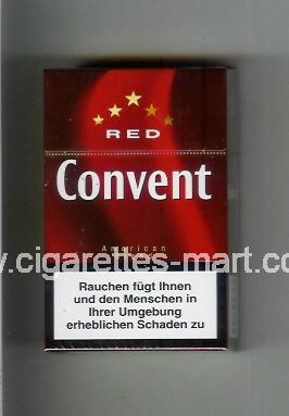Convent (german version) (design 4) (Red / American Blend) ( hard box cigarettes )