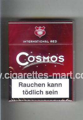 Cosmos (german version) (International Red) ( hard box cigarettes )