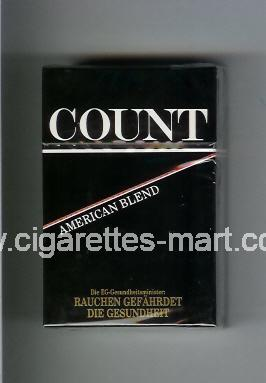 Count (design 1) (American Blend) ( hard box cigarettes )