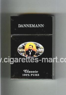 Dannemann (Classic / 100% Pure) ( hard box cigarettes )