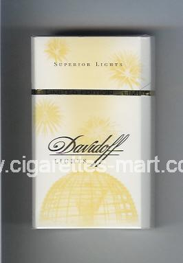 Davidoff (collection design 1F) (Lights / Superior Lights) ( hard box cigarettes )