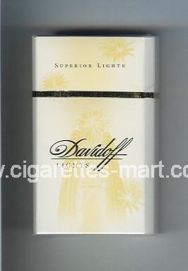 Davidoff (collection design 1G) (Lights / Superior Lights) ( hard box cigarettes )