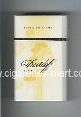 Davidoff (collection design 1H) (Lights / Superior Lights) ( hard box cigarettes )