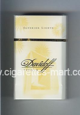 Davidoff (collection design 1I) (Lights / Superior Lights) ( hard box cigarettes )