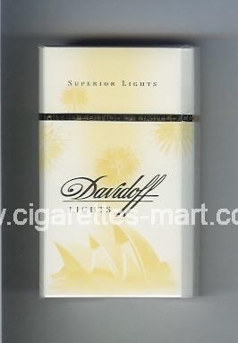 Davidoff (collection design 1J) (Lights / Superior Lights) ( hard box cigarettes )