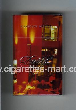 Davidoff (collection design 2A) (Classic / Signature Edition) ( hard box cigarettes )