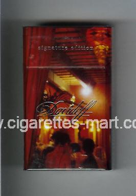 Davidoff (collection design 2B) (Classic / Signature Edition) ( hard box cigarettes )