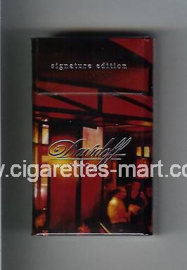 Davidoff (collection design 2C) (Classic / Signature Edition) ( hard box cigarettes )