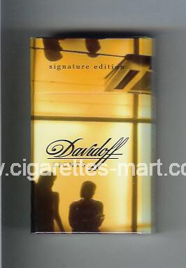 Davidoff (collection design 2F) (Lights / Signature Edition) ( hard box cigarettes )
