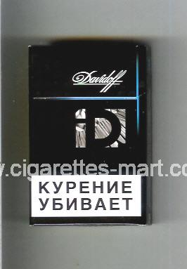Davidoff (collection design 3B) ( hard box cigarettes )