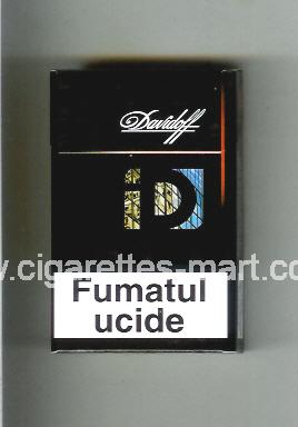 Davidoff (collection design 3D) ( hard box cigarettes )