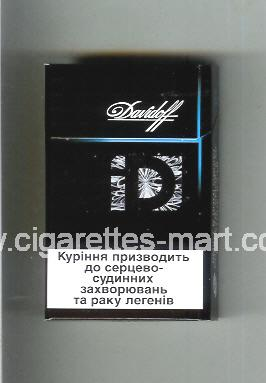 Davidoff (collection design 3E) ( hard box cigarettes )