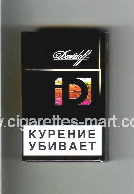 Davidoff (collection design 3F) ( hard box cigarettes )