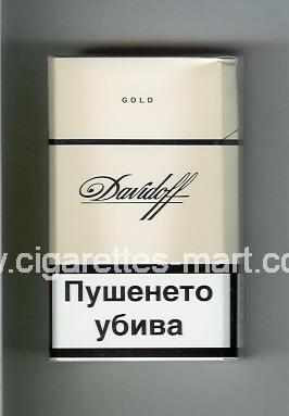 Davidoff (design 1) (Gold) ( hard box cigarettes )