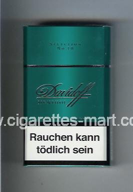 Davidoff (design 1) (Menthol / Selection No 10) ( hard box cigarettes )