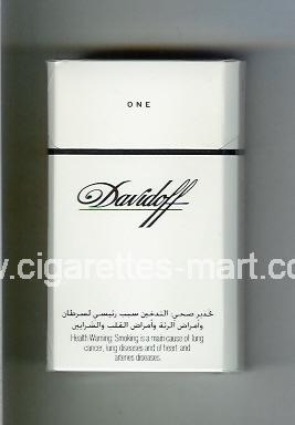 Davidoff (design 1) (One) ( hard box cigarettes )