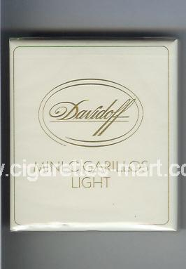 Davidoff (design 2) Mini Cigarillos (Light) ( box cigarettes )