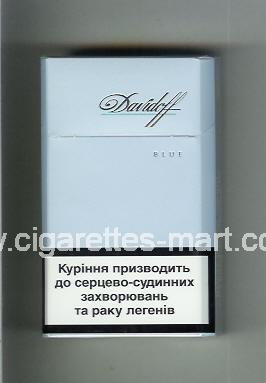 Davidoff (design 5) (Blue) ( hard box cigarettes )