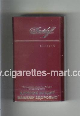 Davidoff (design 5) (Classic) ( hard box cigarettes )