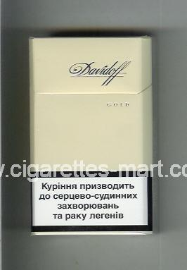 Davidoff (design 5) (Gold) ( hard box cigarettes )