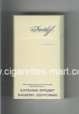 Davidoff (design 5) (Lights) ( hard box cigarettes )