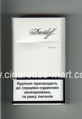Davidoff (design 5) (One) ( hard box cigarettes )