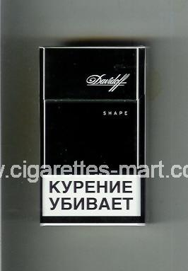 Davidoff (design 5C) (Shape) ( hard box cigarettes )