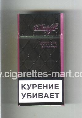 Davidoff (design 5D) (Boudoir / Superfine) ( hard box cigarettes )