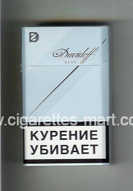 Davidoff (design 6) (Blue) ( hard box cigarettes )